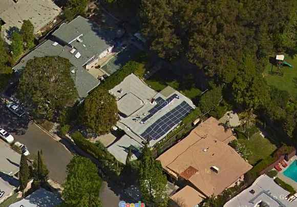 Drew Carey's California, Los Angeles Home.